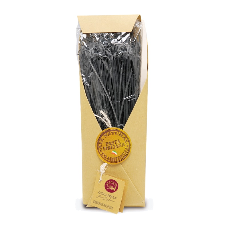 Италиански спагети с мастило от сепия 500гр.