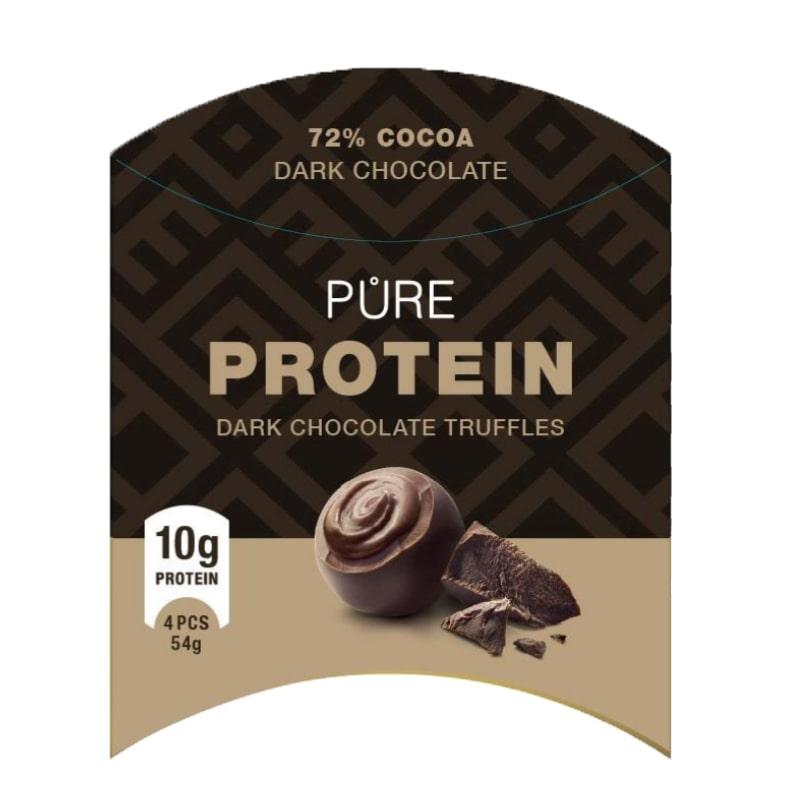 Протеинови бонбони с черен шоколад 54гр.
